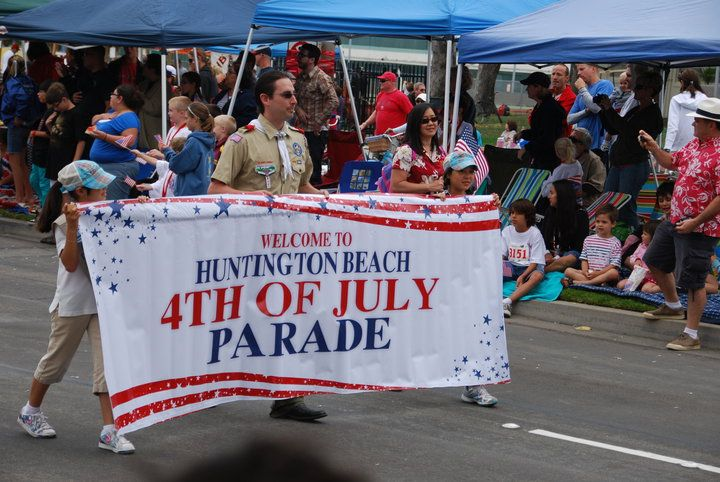 huntington beach 4th of july parade history