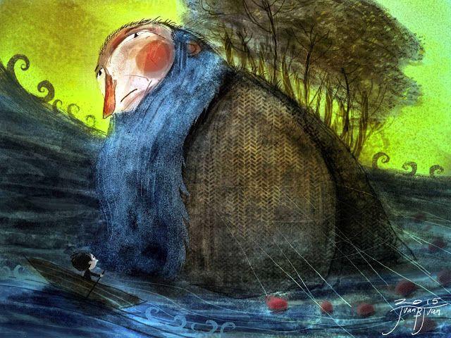 juanbjuan children illustration: Sea giant