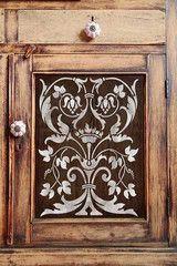 Firenze Classic Panel Stencil pattern