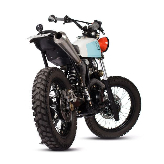 My precious  This funky, high-steppin' Yamaha XT600 custom comes from Portugal's Maria Motorcycles. Who says you can't make an old dualie look good?