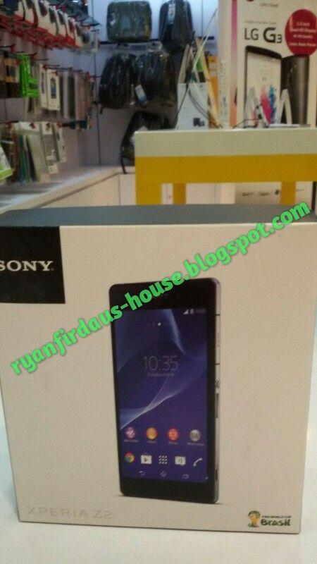 Sony Xperia Z2 harga 6.999.000 bisa di kredit tanpa kartu kredit.