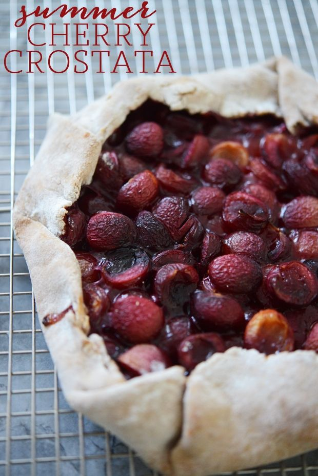 Summertime Cherry Crostata - http://www.decoratingo.com/summertime-cherry-crostata/ #BeautyAndFashion