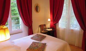 Bedroom at hotel eldorado paris
