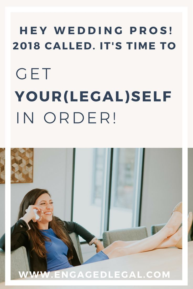 2018 is HERE and it's the PERFECT time to get your(legal)self together! Whether it's photographer, florist, or  wedding planner contract templates, articles on running a wedding business, or workshops on starting wedding photography or wedding planner company, Engaged Legal Collective has got you covered! Wedding Pro Workshop Wedding Planner Contact Template