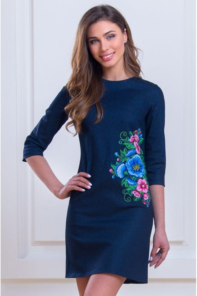 Платье с вышивкой • vilenna.ua