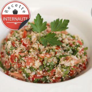 Taboulé libanais, facile, rapide et pas cher : recette sur Cuisine Actuelle