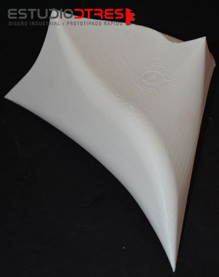 Impresión 3d PLA blanco