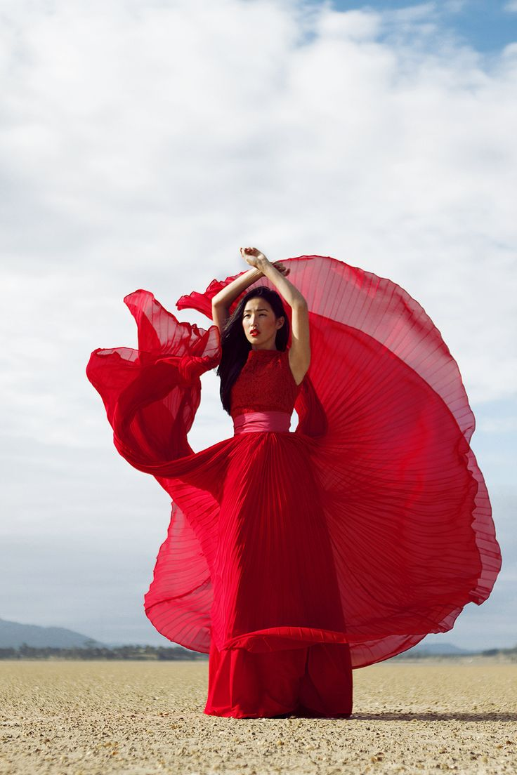 Seeing red dress in dream
