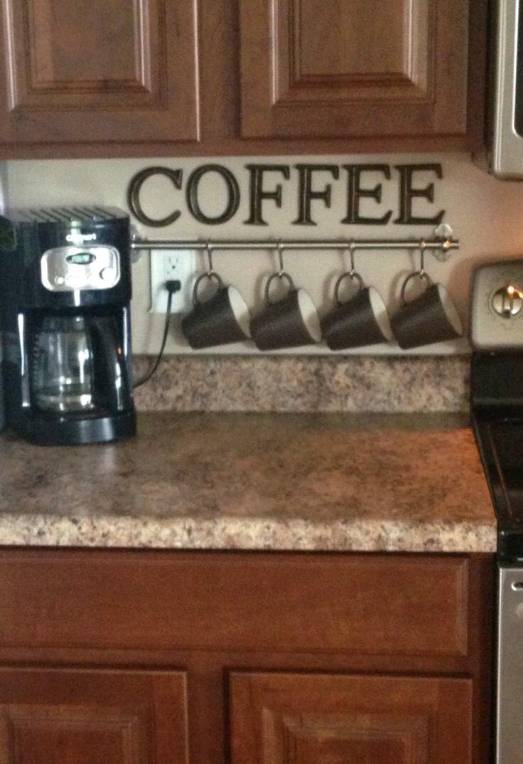 Práctico en la cocina u. Rico café