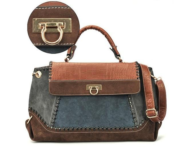 Stylish Blue Covered Bag For Women, $26.70