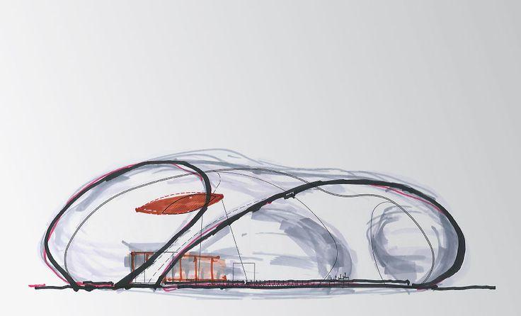 Arata Isozaki + Anish Kapoor > Ark Nova | HIC Arquitectura