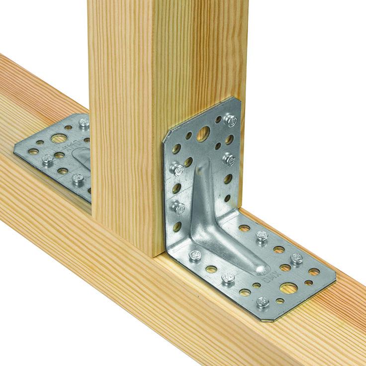 DMX: kątowniki, łączniki do drewna, złącza ciesielskie, złącza do drewna
