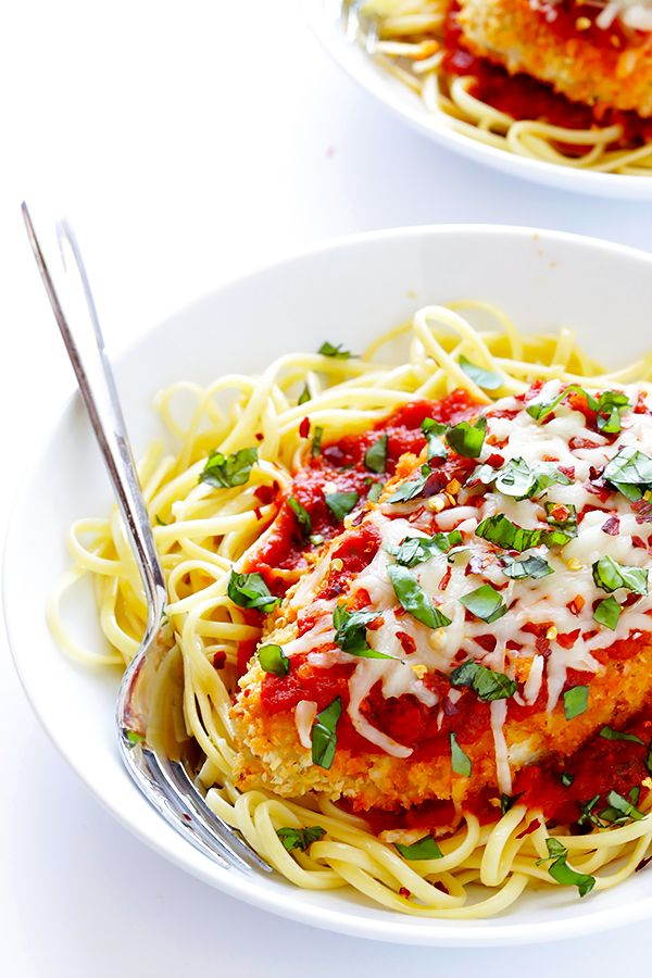 Spicy baked chicken parmesan