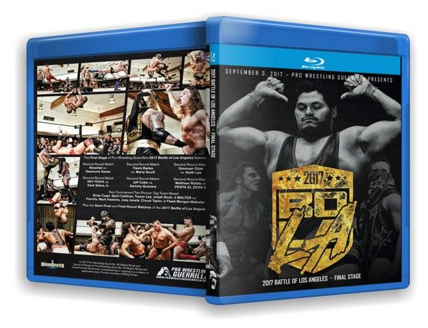 Pro Wrestling Guerrilla - Battle of Los Angeles 2017 Final Stage Blu-Ray
