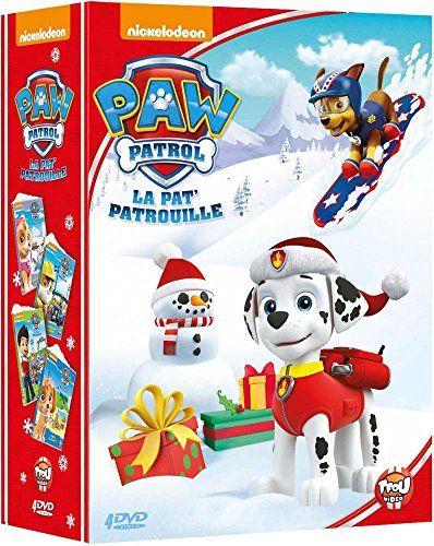 Paw Patrol, La Pat' Patrouille – Le coffret 4 DVD: Une nouvelle amie + Bienvenue Ruben! + Tous à l'eau! + Une équipe de champions