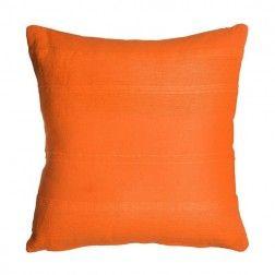 Cojín liso naranja. Cojines decorativos en Nuryba.com tu tienda de cojines y decoracion online