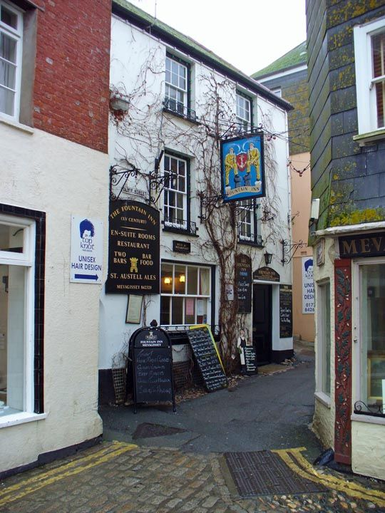 The Fountain Inn, Mevagissey, Cornwall