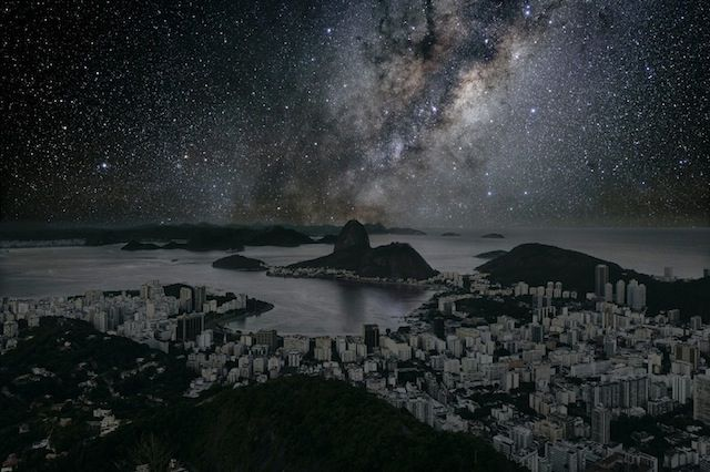 """""""Darkened Cities"""" – Skylines of the largest Cities in the World without Light (8 Pictures) > Film-/ Fotokunst, Streetstyle > dark cities, digital art, larg, retouching, skyline, worldwide"""