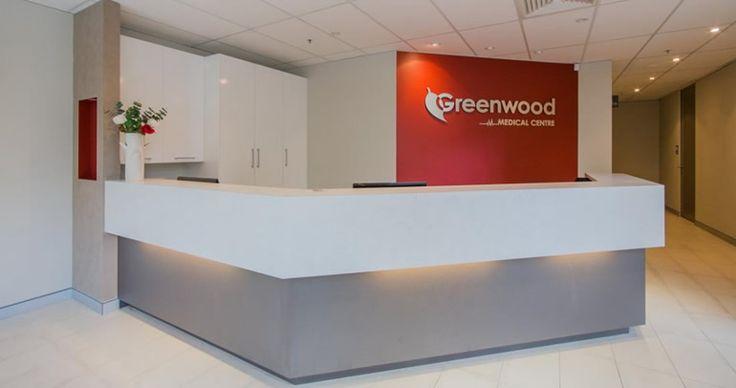 medical centre reception design