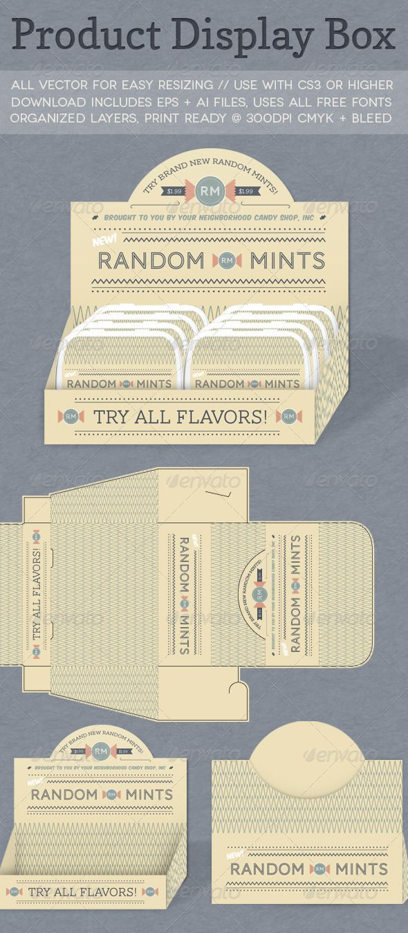 Product Display Box - GraphicRiver Item for Sale