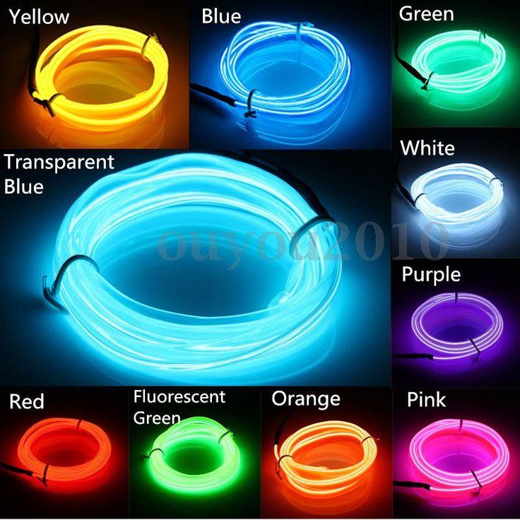 Flexible led neon strip light   ... Garden > Lamps, Lighting & Ceiling Fans > String Lights, Fairy Lights