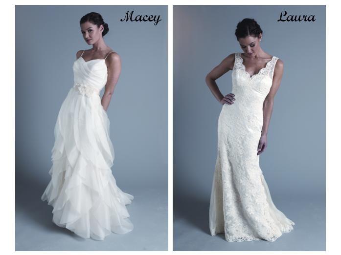 High Waisted And Flowy Wedding Dresses