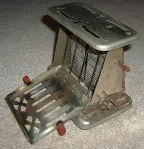The Toaster!!!!!  1906 the first electrical toaster was invented by George Schneider, but the first electric version made for home wasn't unveiled until 1914 by Westinghouse.