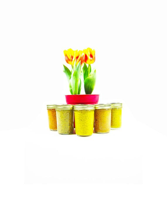 A Quintet of Mustard - Artisan Mustard Gift Set - 5 Full Size Jars - Your Choice - Food Gift Set