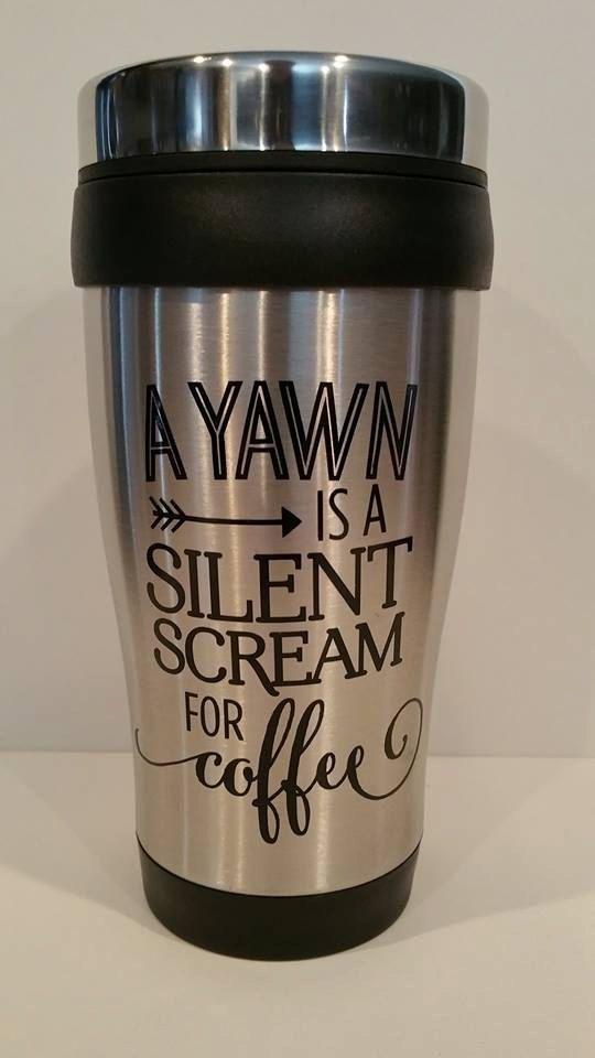 Stainless Steel Travel Tumbler/Coffee Mug