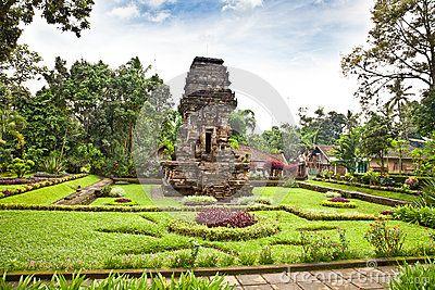 Java, Malang - Candi Kidal Temple near by Malang, east Java, Indonesia.