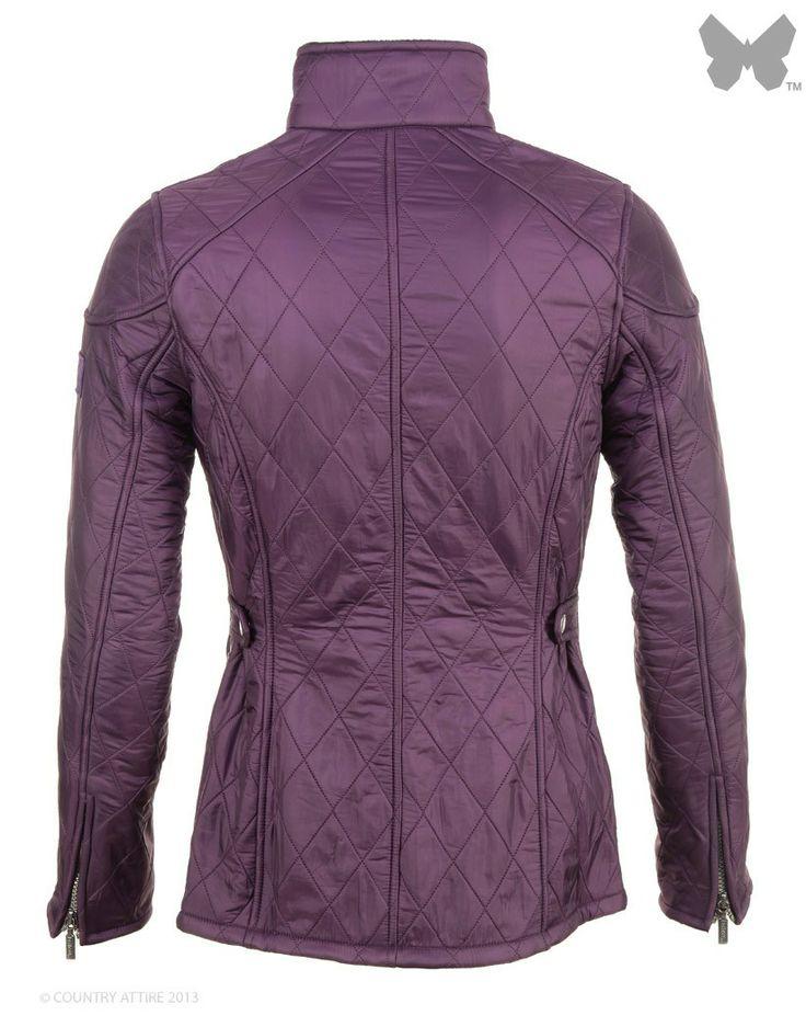 Barbour Ladies' International Trials Polarquilt Jacket - Purple LQU0044PU71 - Jackets / Coats - Ladies | Country Attire