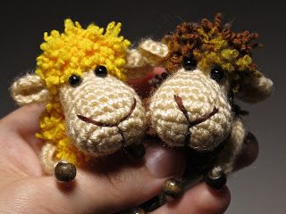 When they live their own lives...: Tiny Sheep - Free crochet toy pattern - amigurumi pattern