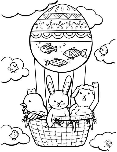 Easter Coloring Page Coloriage De Paques Coloring Sheets For Kids Coloring Pages Coloring Sheets