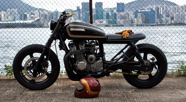 Honda CB750 - Wesley Hannam