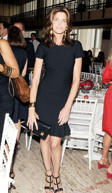 The Best Little Black Dresses of 2012 - Stephanie Seymour in Azzedine Alaia