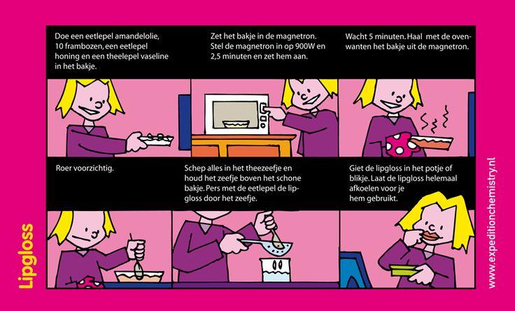 Lipgloss maken, leuk proefje voor kinderen op de basisschool!