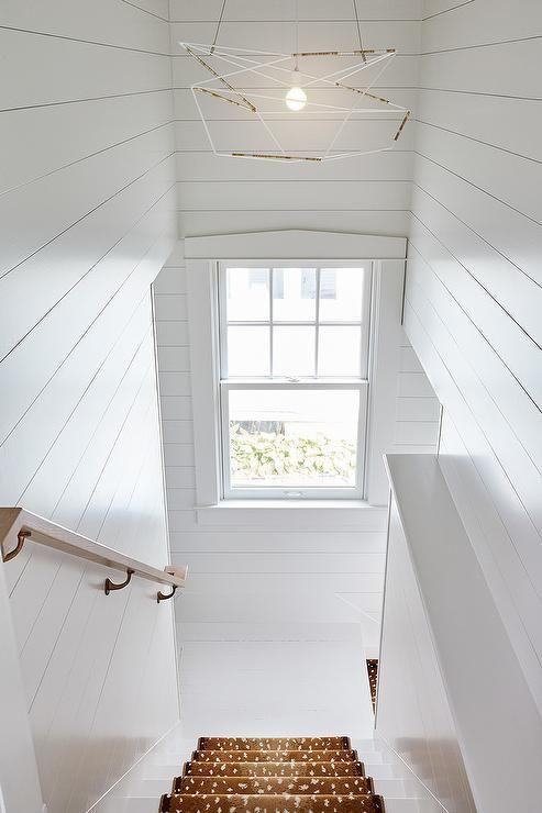 10 Best Of Modern Stairwell Pendant Lighting: Best 25+ White Shiplap Ideas On Pinterest