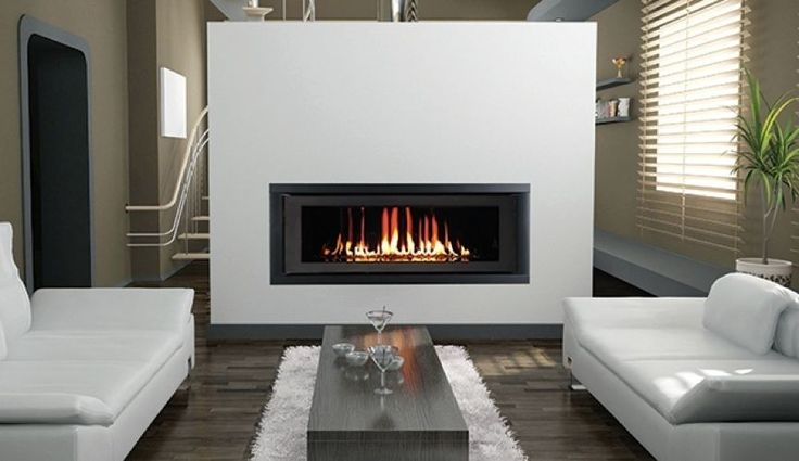 Superior DRL 6542 42 Linear Modern Direct Vent Gas Fireplace ...