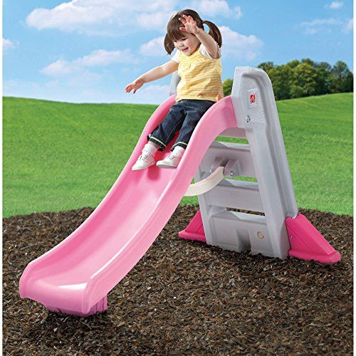 Toddler Slides And Climbers Outdoor Kitchen Playsets For Toddlers Indoor Children Swingset Kids Pink Slide Toy Fun Folding Backyard Play Playground Plastic Swing Set New First Child Kid NEW