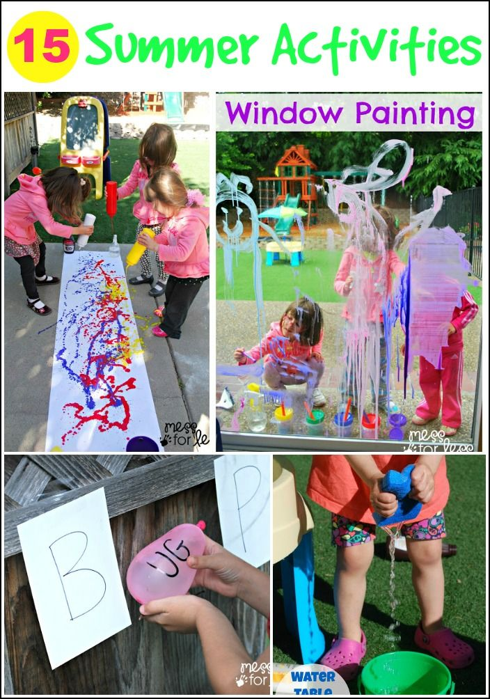 15 Summer Activities Kids Will Love - keep kids busy and having fun this summer with these COOL activities.