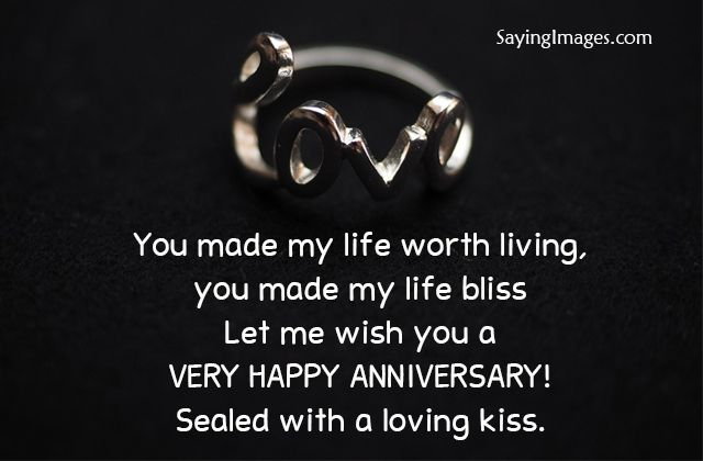 Wedding Anniversary Wishes & Quotes | SayingImages.com