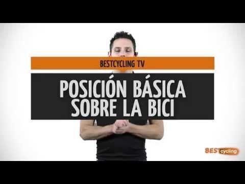 ▶ Posición básica de Ia bici en ciclo indoor. - YouTube