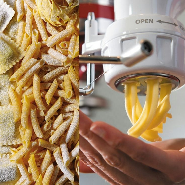 For easy and great tasting pasta, our pasta attachment would be the solution! What is your favourite pasta shape? Much love KitchenAid Africa xx