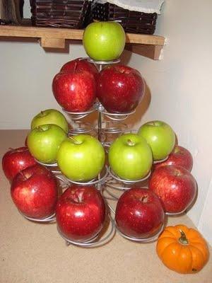Apple Display and Caramel Fountain Ideas  5  #WorldEricCarle and #HungryCaterpillar