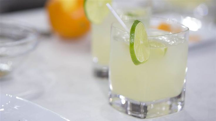 Spice up your holiday party with a jalapeño margarita