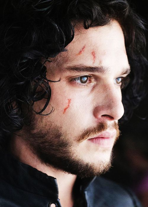 Jon Snow, I'm sure he has a real name but I'm sticking to Jon Snow. mmmmm