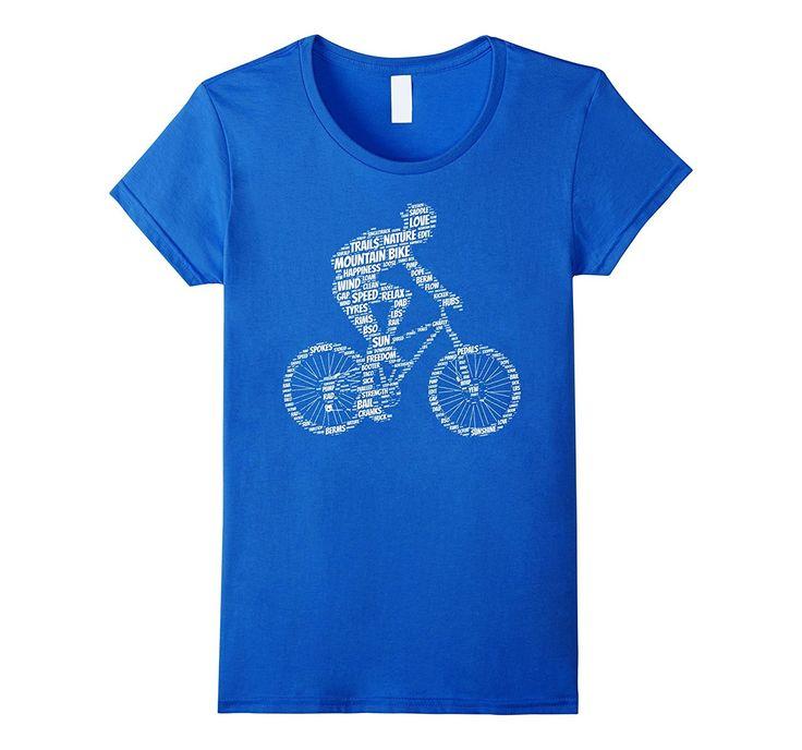 Mountain Bike Shirt: Funny Mountains Biking Biker T-Shirt