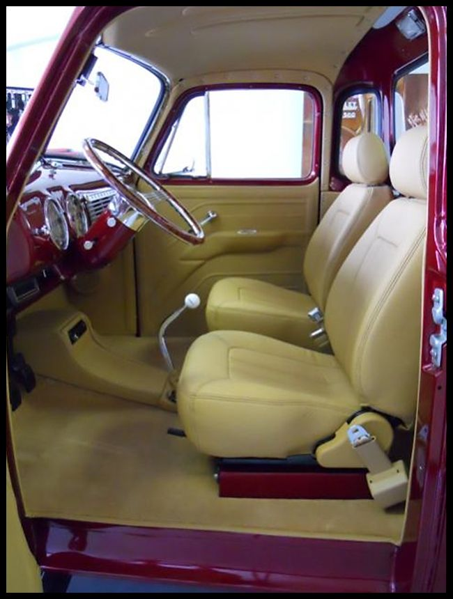 Here Are Some Interior Pics Of The U0026 Chevy 3100 Resto Mod Project. Going  Back To The Restoration Shop To Complete The Assembly And Make Ready For.