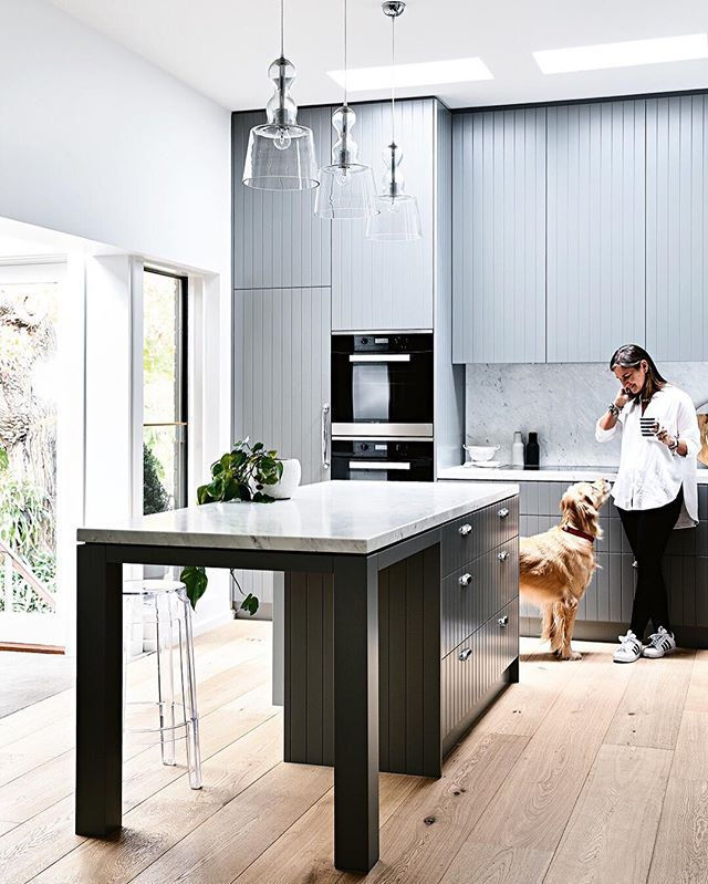Our new September issue is on sale tomorrow! But lucky you, we're treating you to a little sneak peek via the link in our profile and here's the incredible kitchen for a taste. Don't miss this top issue at newsagents and digital outlets (globally) via Zinio, Google Play, Nook and iTunes. Production by @carliphilips. Styling by @heathernetteking. Photography by @derek_swalwell.