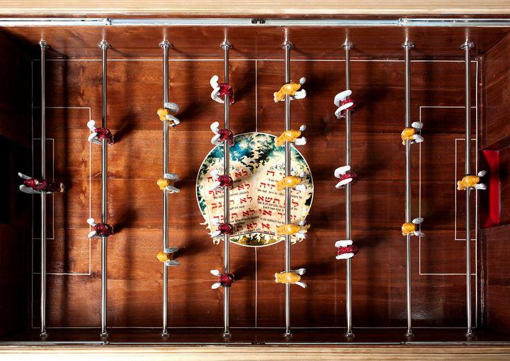 foosball soccer table by SeokJun Lee